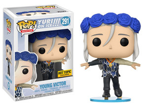 Funko POP Young Victor Yuri On Ice Hot Topic Exclusive (291)