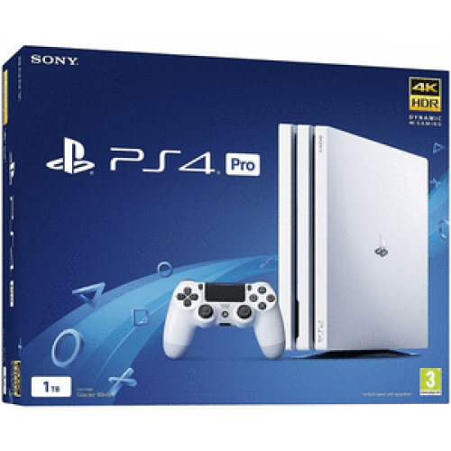 PlayStation 4 Pro 1 TB Glacier White (CUH-7216B)