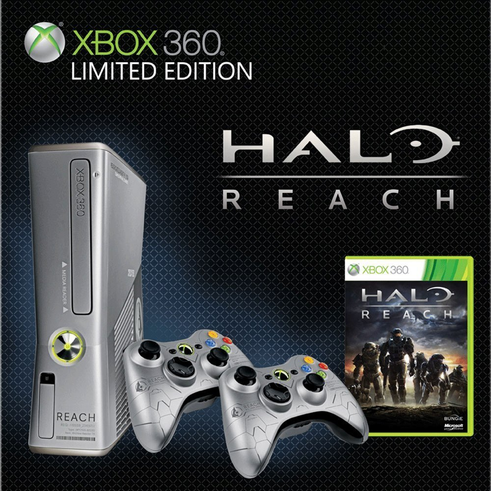 Xbox 360 Slim 250GB Halo Reach Limited Edition Bundle