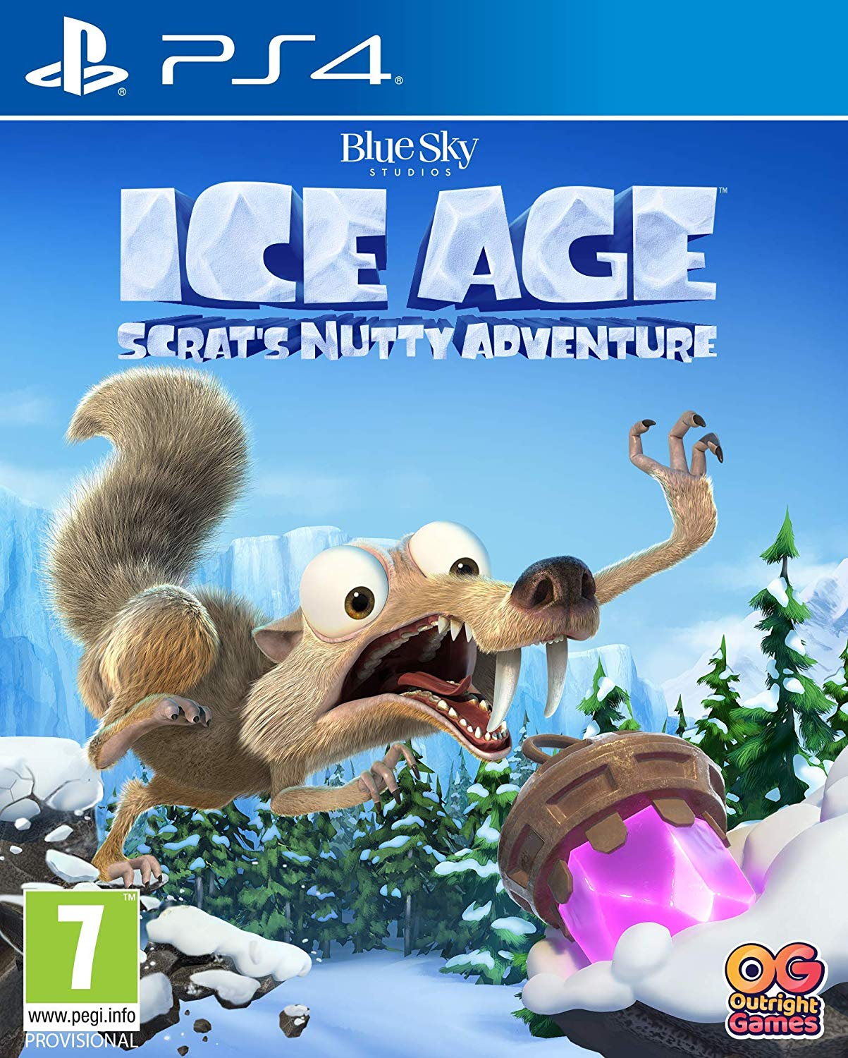 Ice Age Scratts Nutty Adventure