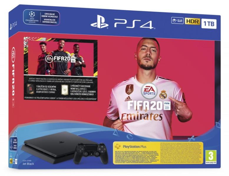 Sony PlayStation 4 Slim 1TB (PS4 Slim 1TB) + FIFA 20