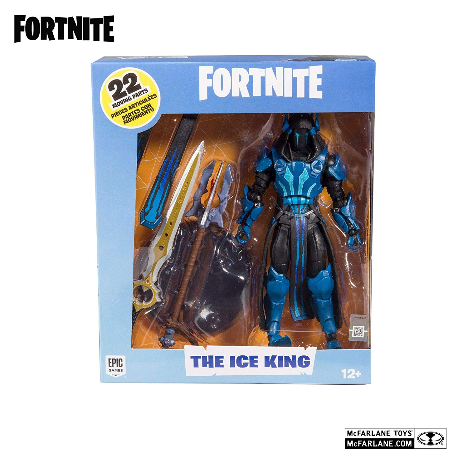 Fortnite Ice King akciófigura (18cm)