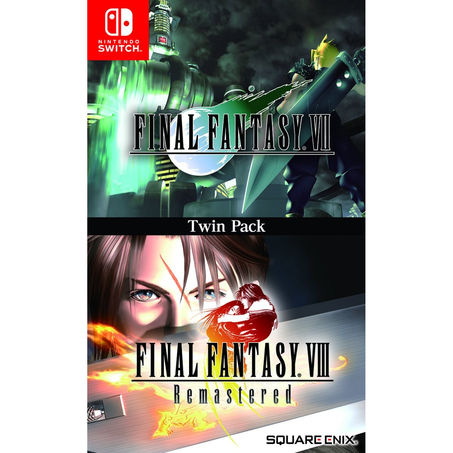 Final Fantasy VII + Final Fantasy VIII Remastered Twin Pack (angol felirattal)