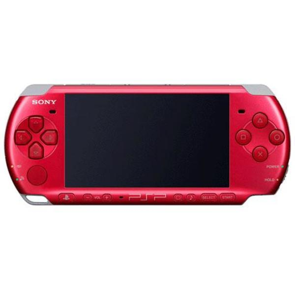 Playstation Portable Slim & Lite VIBRANT RED