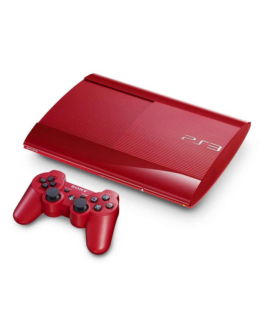 Playstation 3 Super Slim 12 GB (Limited Red)