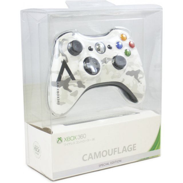 Xbox 360 Wireless Controller Camouflage Special Edition