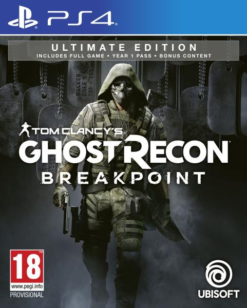 Tom Clancys Ghost Recon Breakpoint Ultimate Edition - PlayStation 4 Játékok