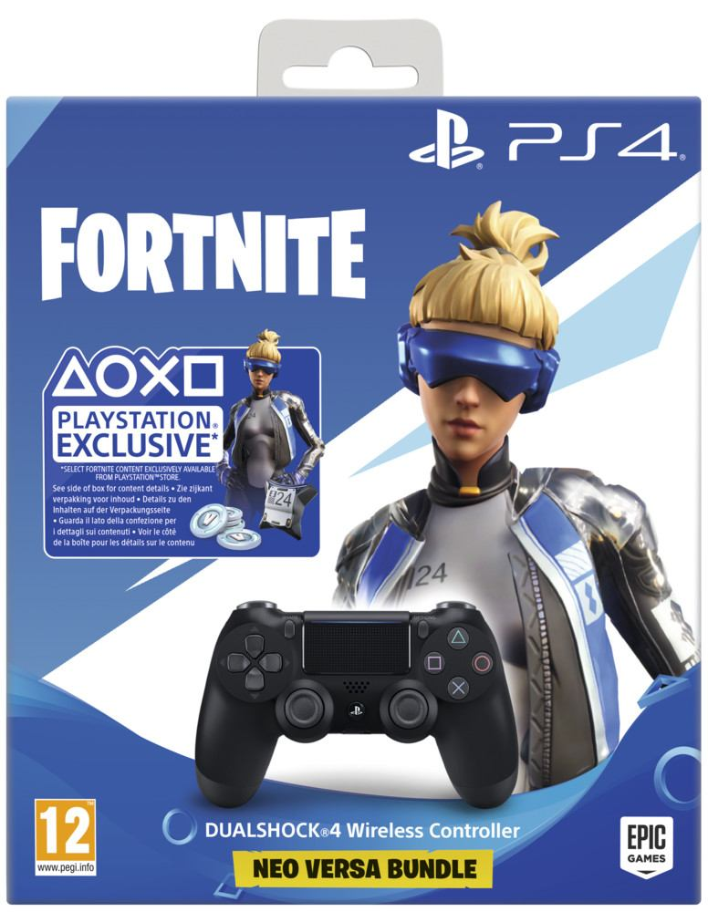 Sony DUALSHOCK 4 V2 kontroller + Fortnite Additional Content