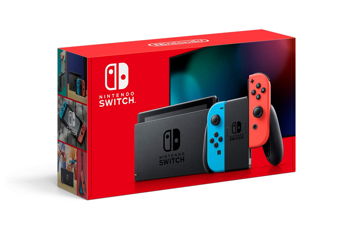Nintendo Switch V2 Neon Red Neon Blue HAC-001(-01)