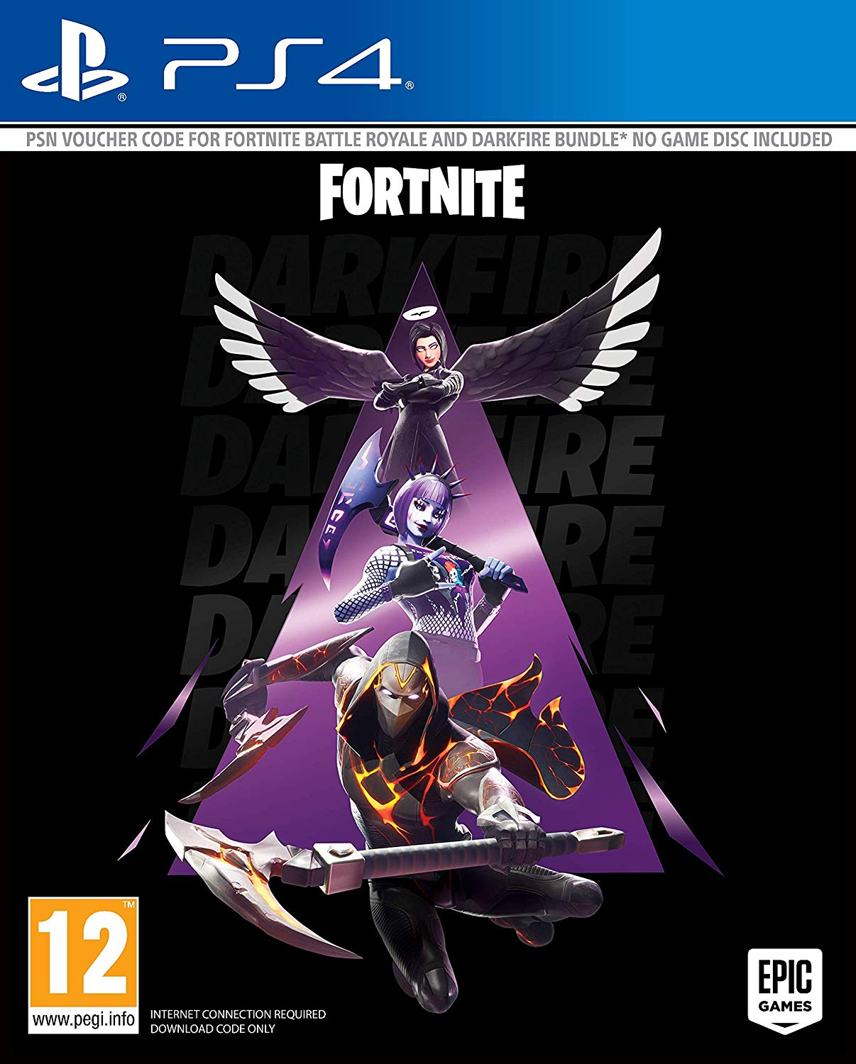 Fortnite Darkfire Bundle (Letöltőkód)