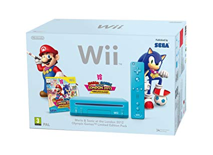 Nintendo Wii Mario and Sonic at the London 2012 Olympic Games Limited Edition Pack