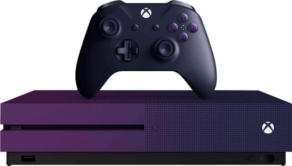 Xbox One S 1TB Gradient Purple Limited Edition Fortnite
