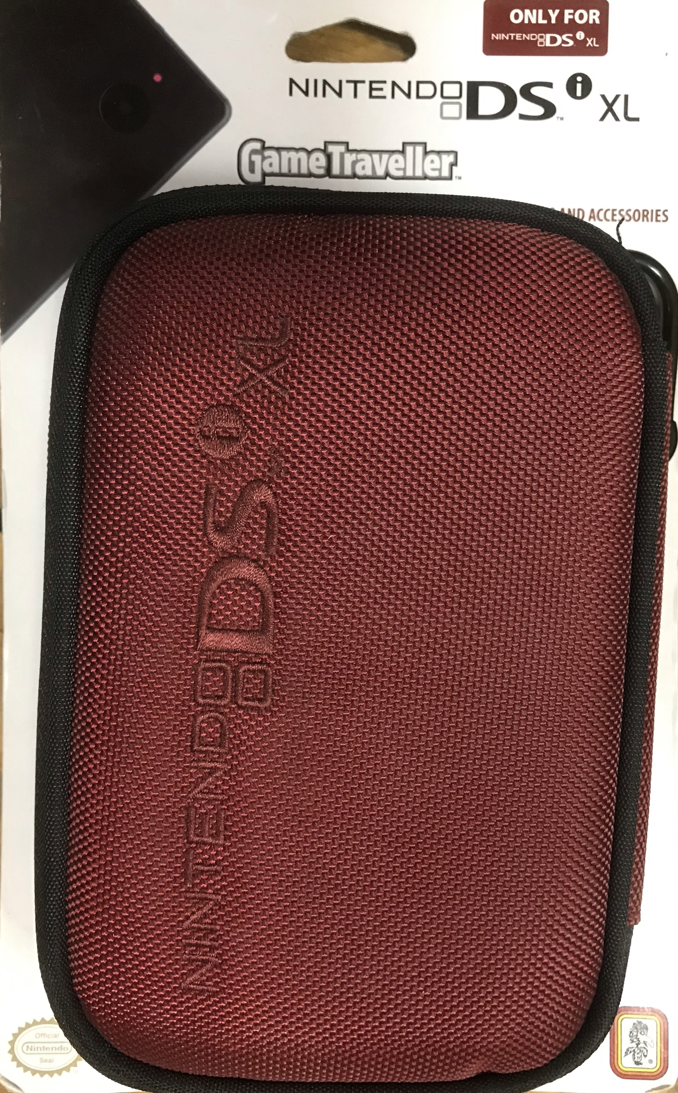 Nintendo DS XL Game Traveller (Piros)