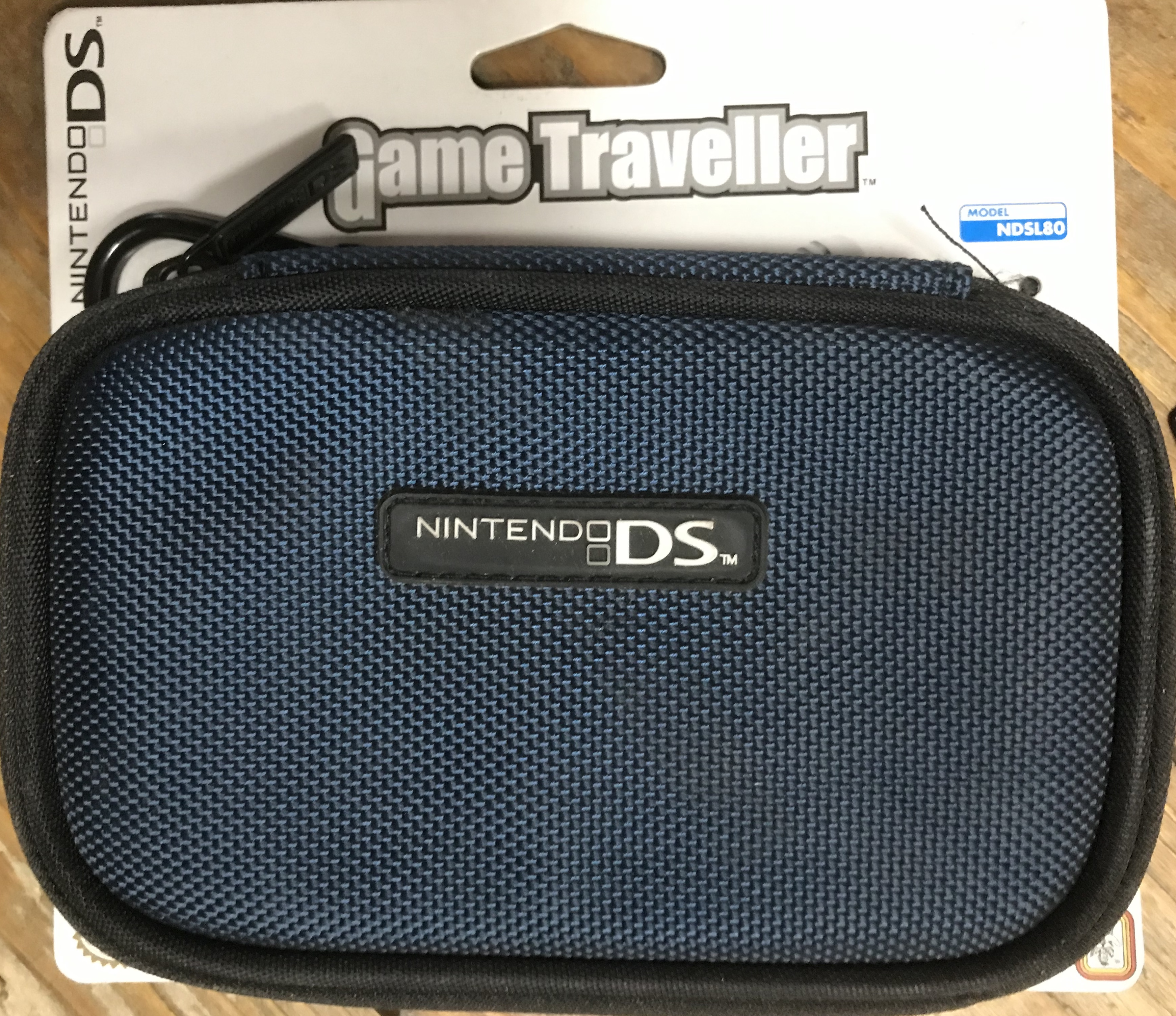 Nintendo DS Light Carrying Case NDSL 80 (Sötétkék)