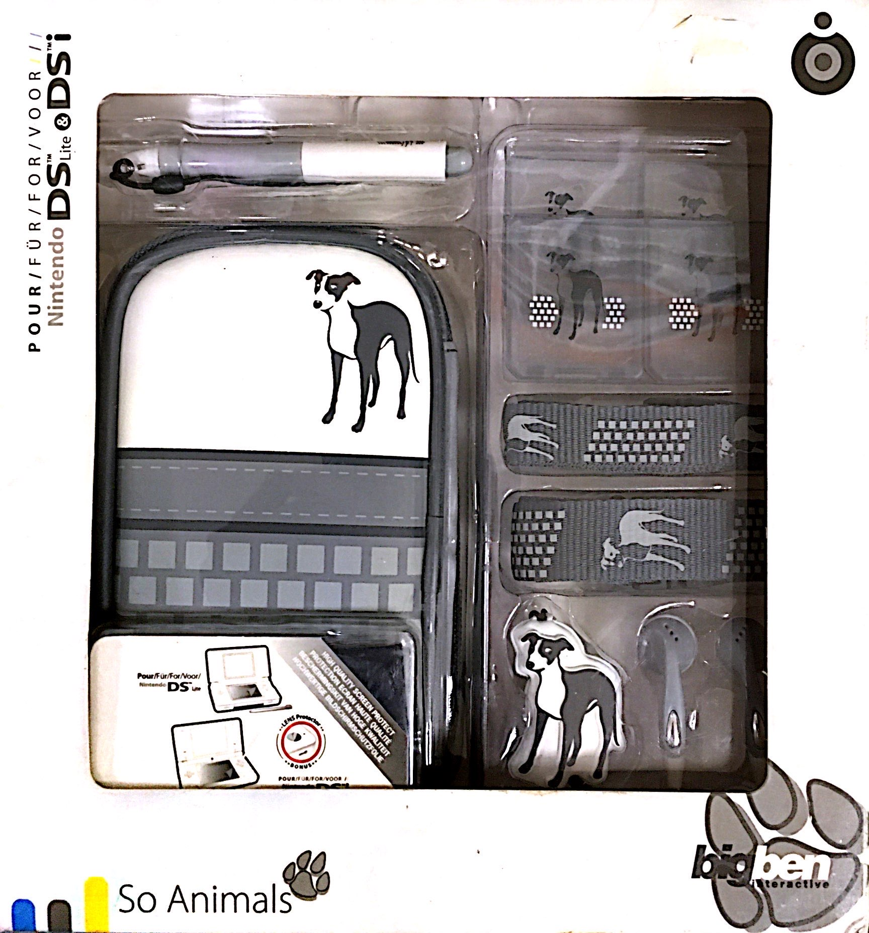 Big Ben So Animals Starter Kit Nintendo DS Lite & DSi konzolokhoz (kutyás)