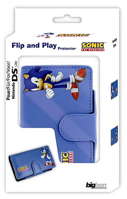 Nintendo DS Lite Flip and Play Protector (Sonic the Hedgehog)