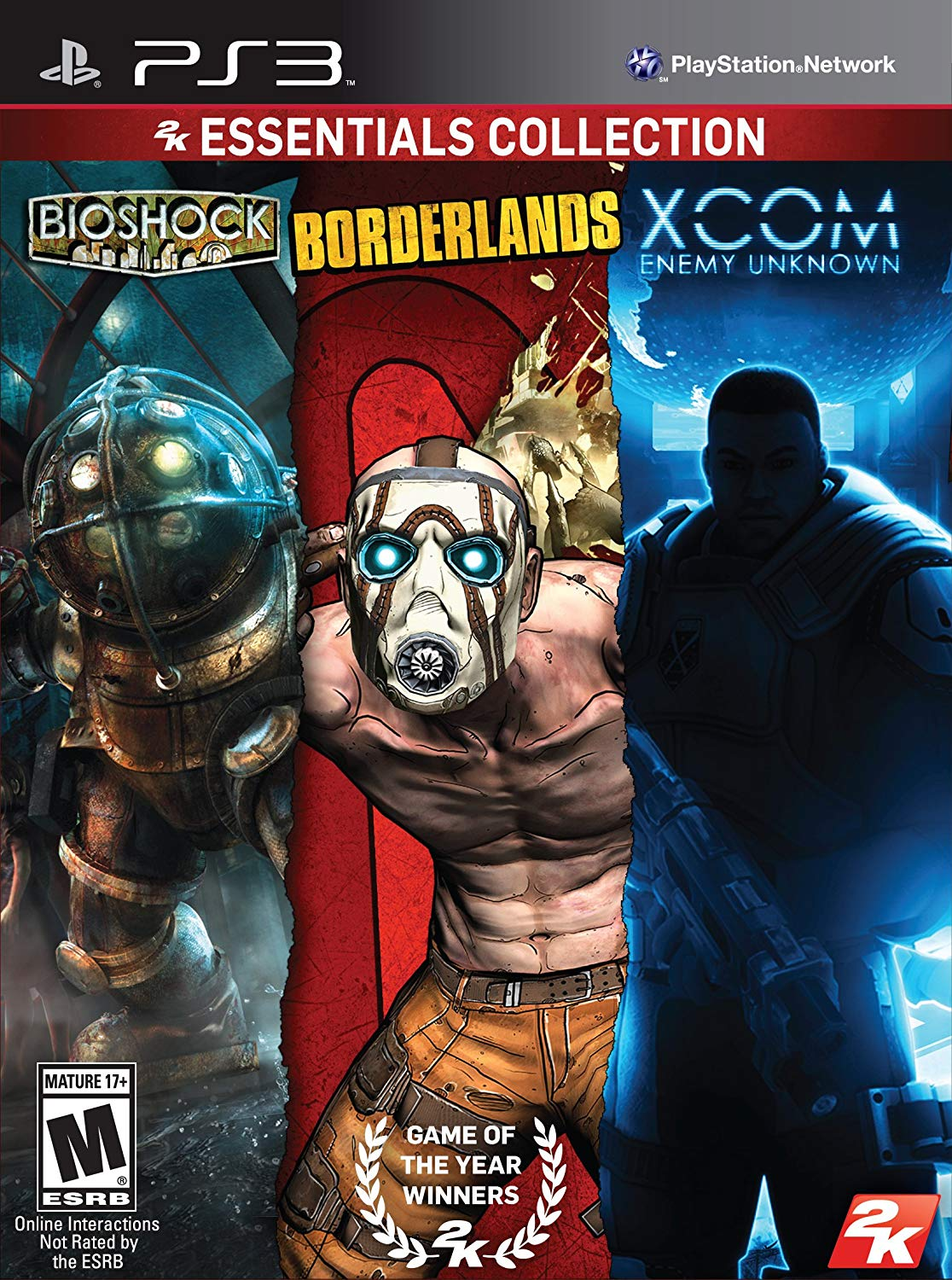 2K Essentials Collection (Bioshock + Borderlands + XCOM Enemy Unknown) (US)
