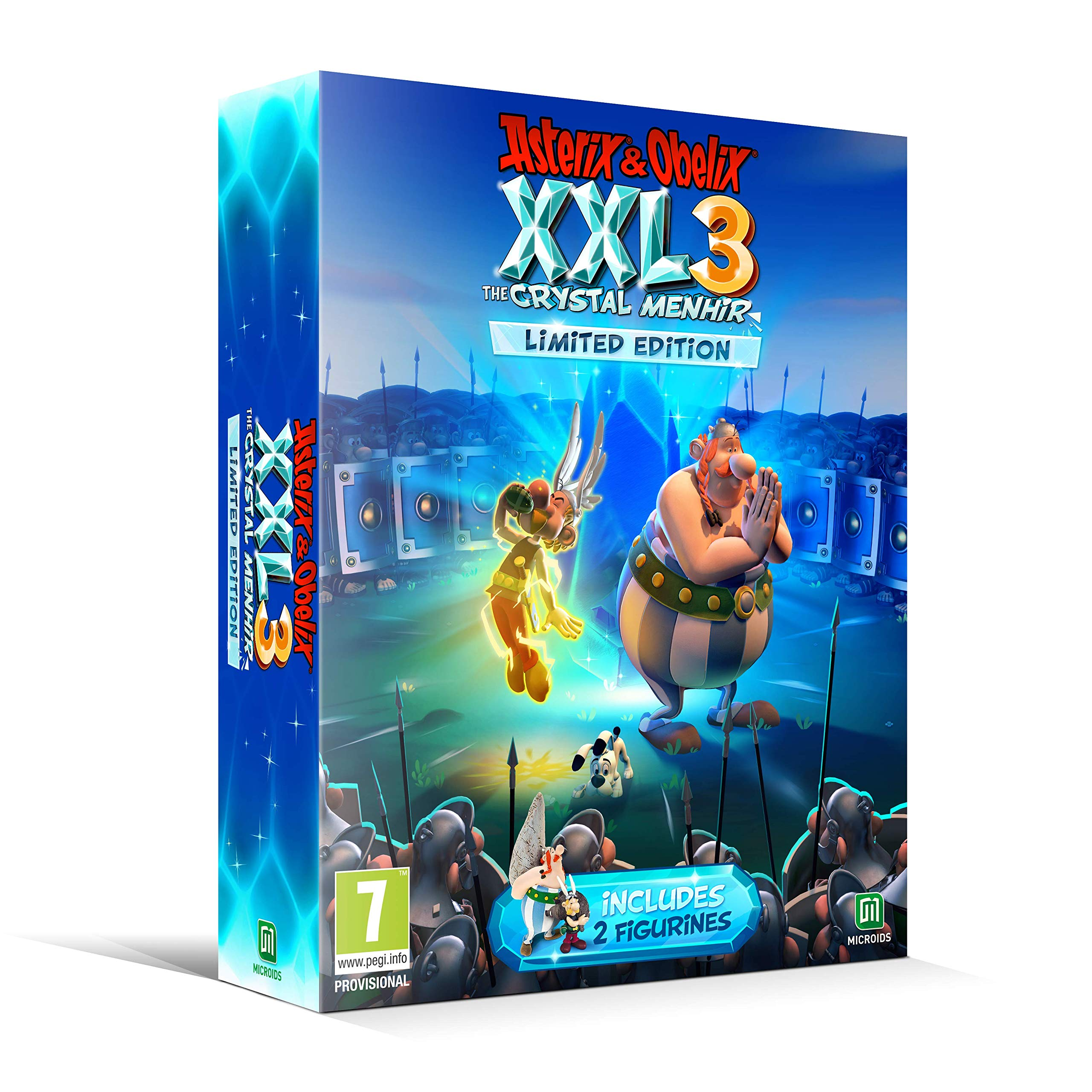 Asterix and Obelix XXL 3 The Crystal Menhir Limited Edition