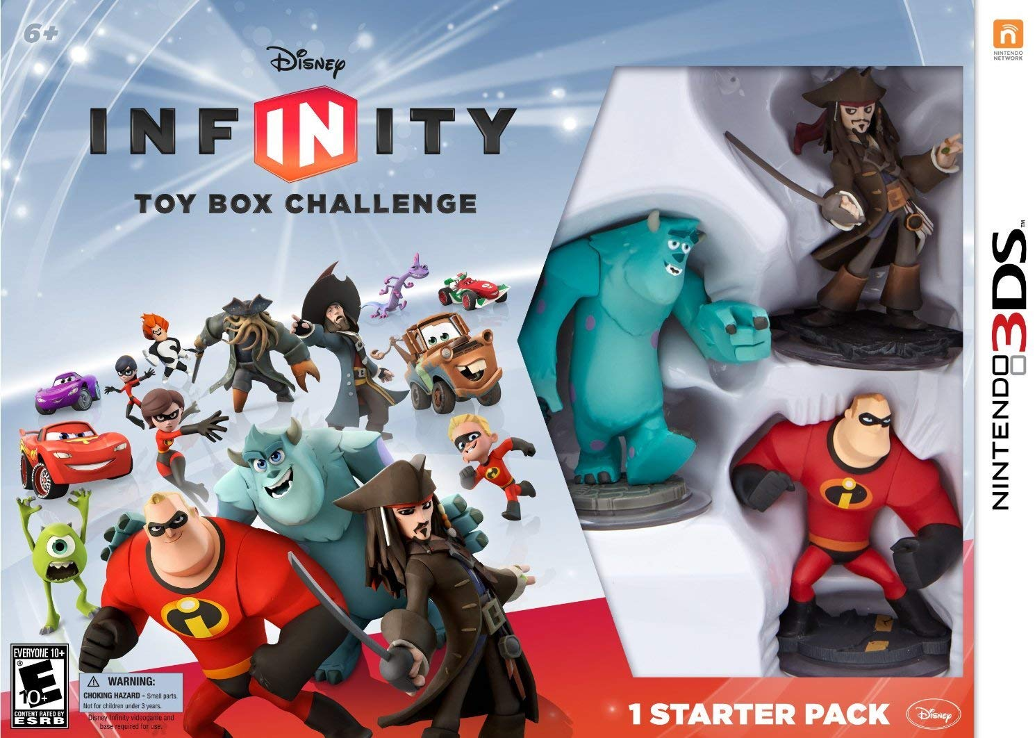 Disney Infinity Toy Box Challenge
