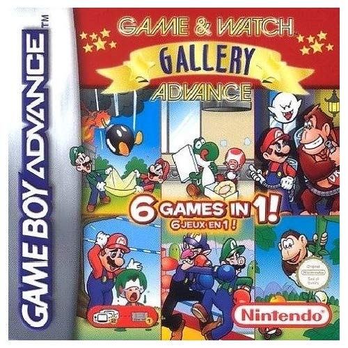 Game and Watch Gallery Advance (CIB)