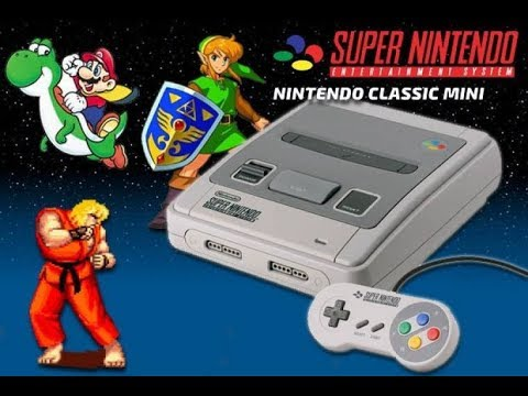 Super Nintendo Entertainment System Mini (SNES Mini)