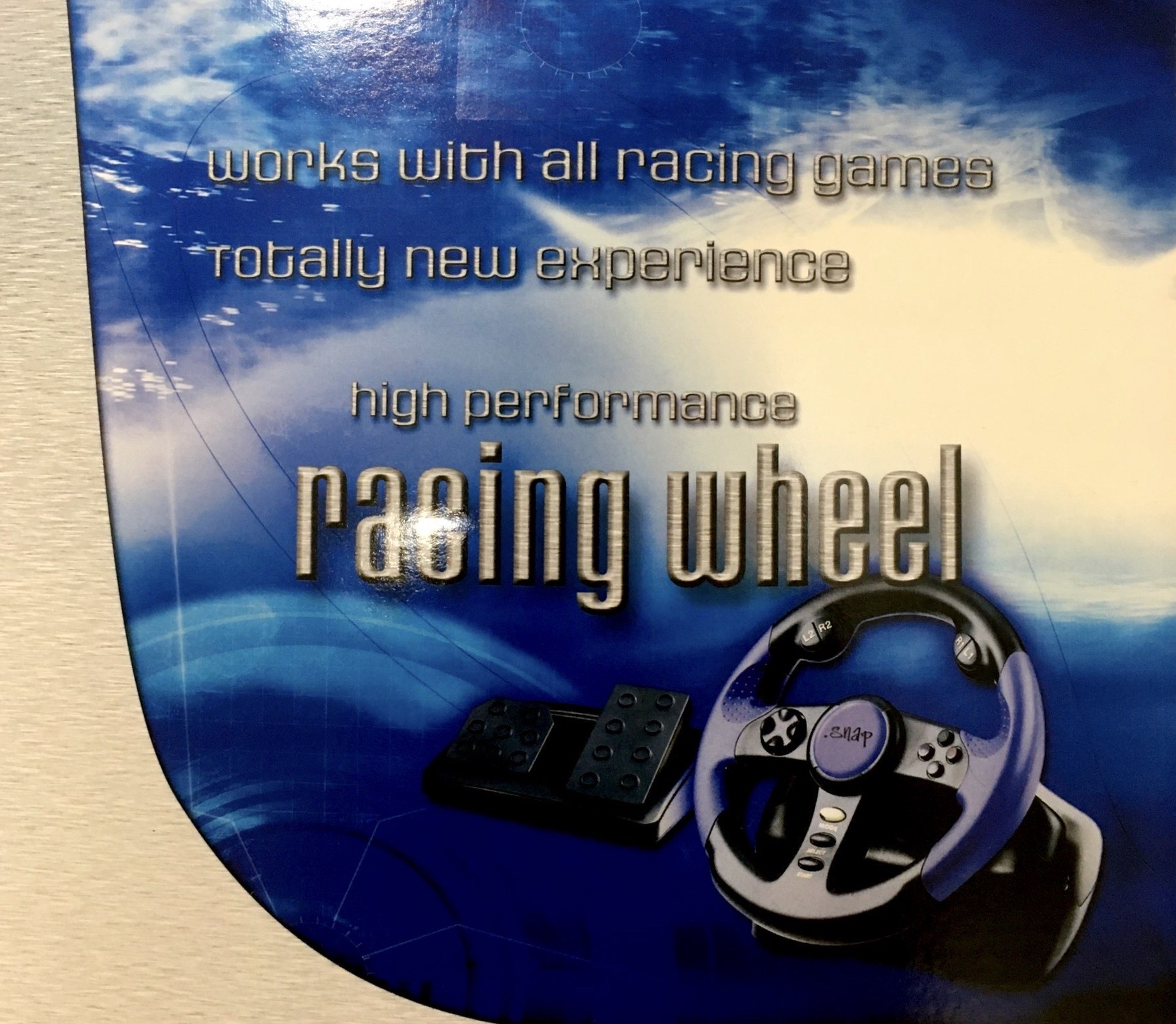 Snap PlayStation 2 Racing Wheel