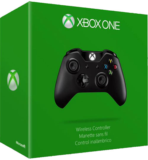 Microsoft Xbox One Wireless Controller 3.5mm Jack (Fekete)