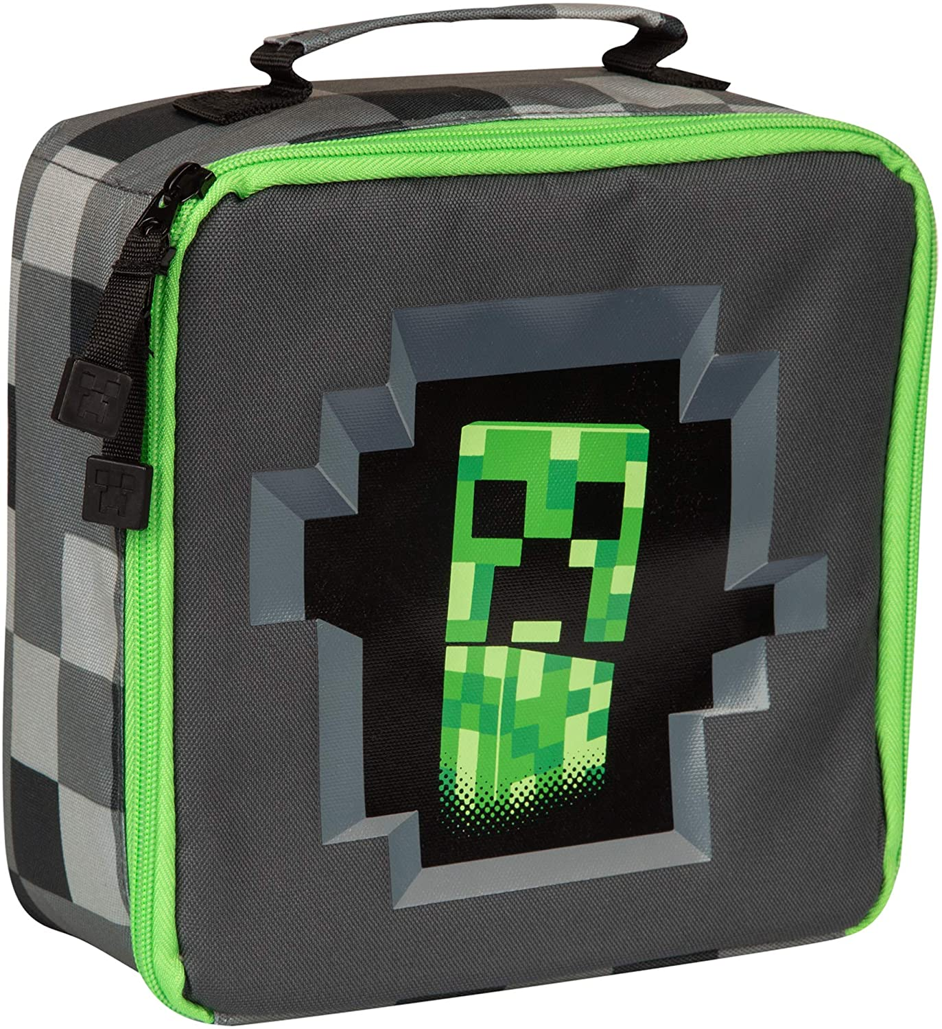 Minecraft Creepey Creeper Lunch Box