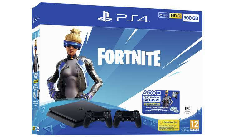 PlayStation 4 Slim 500GB + Fortnite +1db DUALSHOCK 4 CONTROLLER