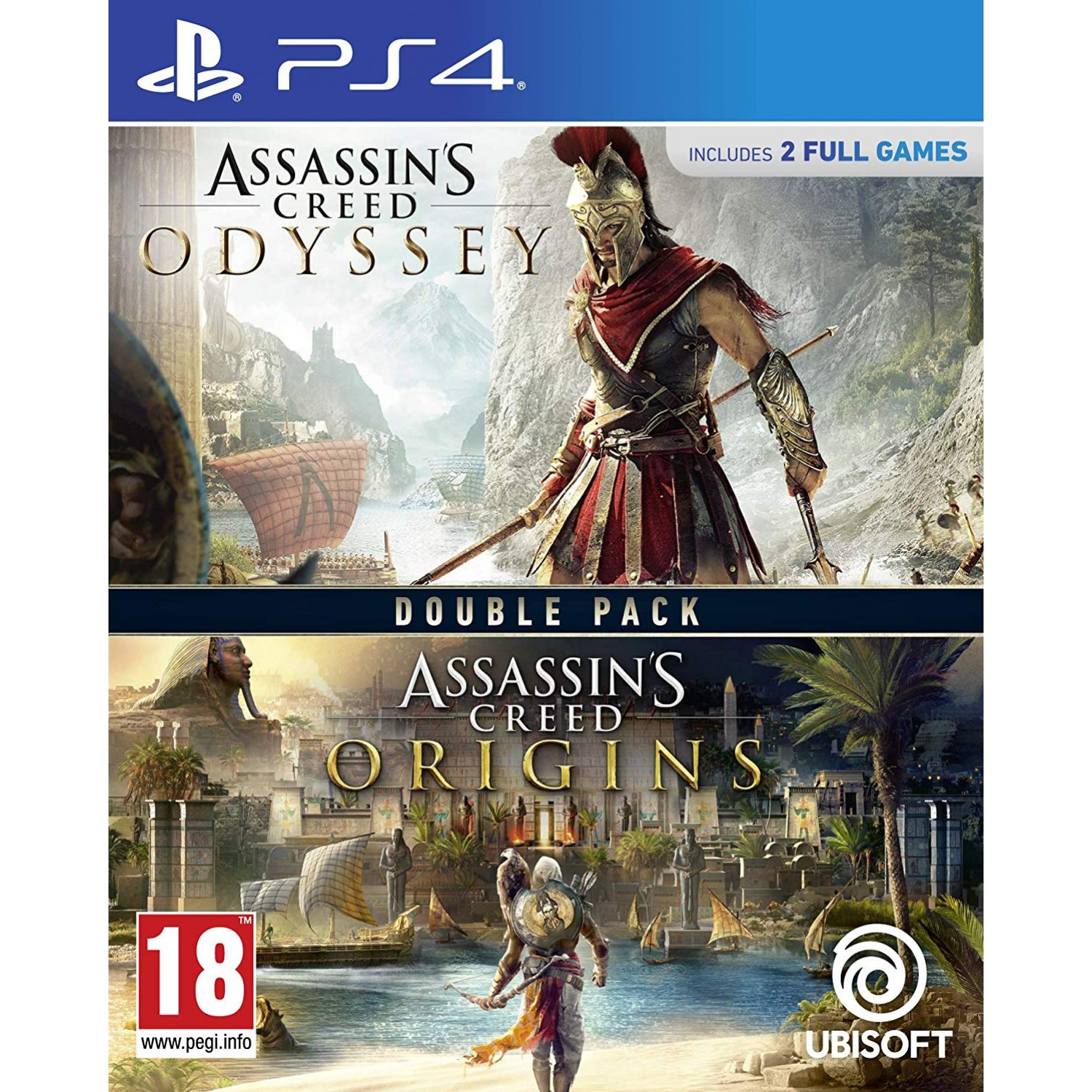 Assassins Creed Odyssey + Origins Double Pack