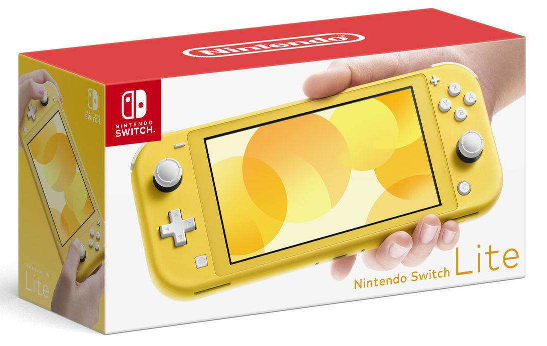 Nintendo Switch Lite (Yellow) Garancia 2021.10.01-ig