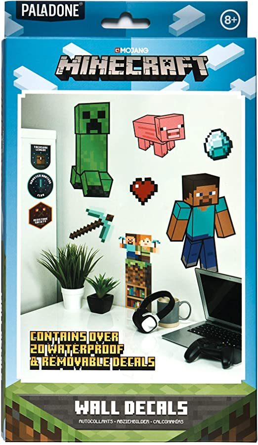 Minecraft Wall Decals Falmatricák