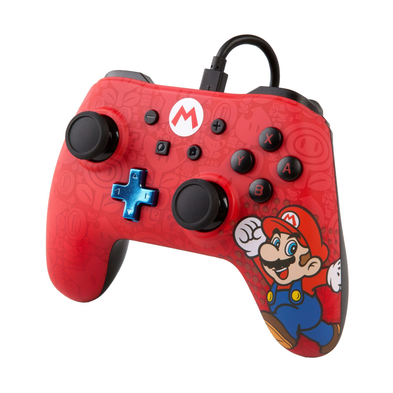 PowerA Mario Wired Nintendo Switch Controller