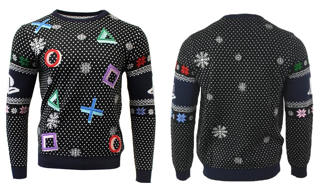 PlayStation Official Christmas Jumper pulóver (méret: L)