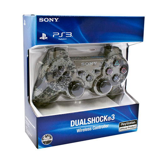 Sony Playstation 3 Dualshock 3 Controller Urban Camouflage