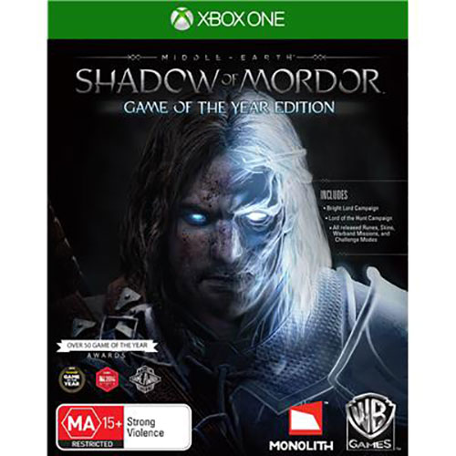 Shadow Of Mordor Middle Earth GOTY Edition