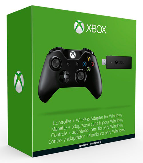Microsof Xbox One Wireless Controller plusz Wireless Receiver (adóvevő) - Xbox One Kontrollerek