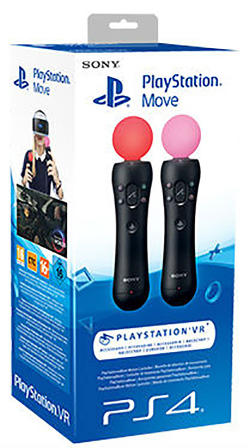Sony Playstation 4 Move Twin Pack - PlayStation VR Kigészítők