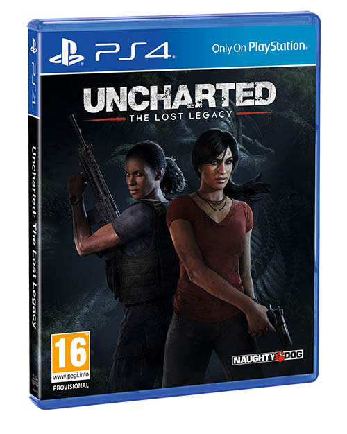 Uncharted The Lost Legacy - PlayStation 4 Játékok
