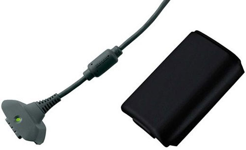 Microsoft Xbox 360 Play and Charge Kit fekete