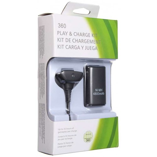 Xbox 360 Play and Charge Kit 4800mAh